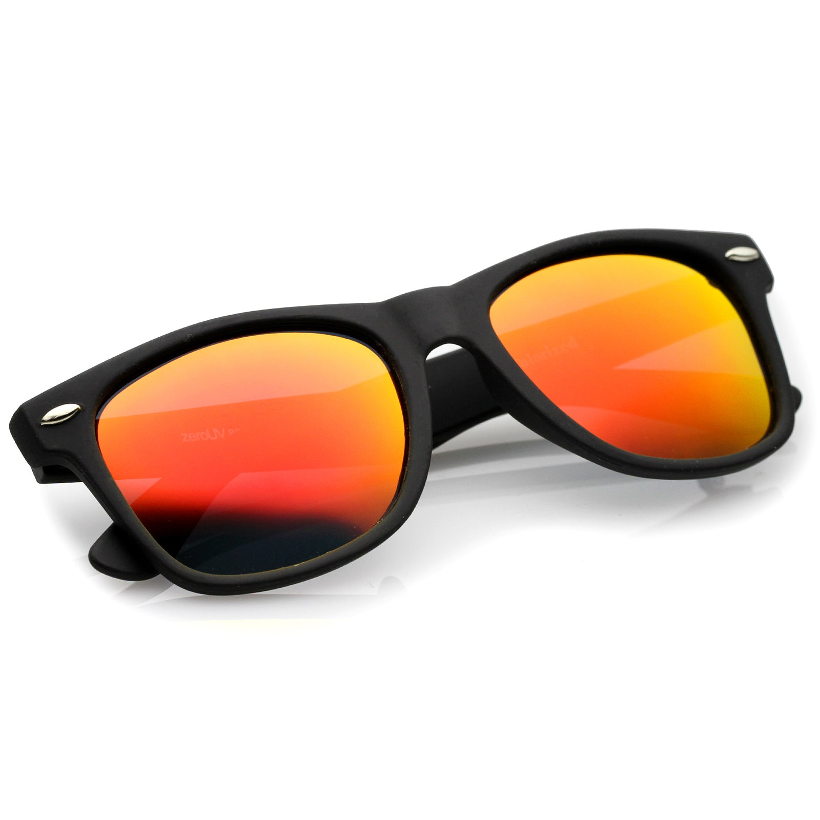 Black / Red Mirror Polarized