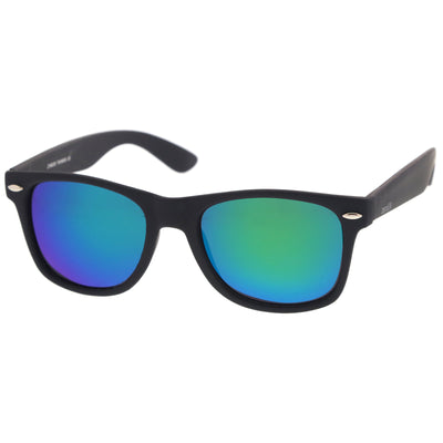 Black / Green Mirror Polarized