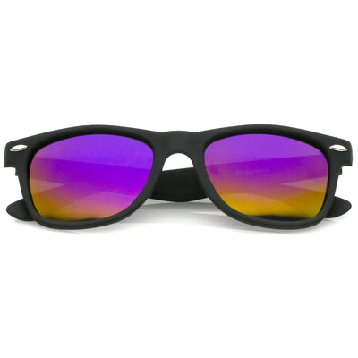 Black / Rainbow Mirror Polarized