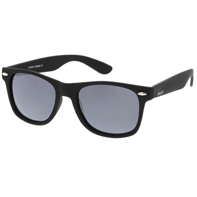 Polarized | Rubberized / Silver