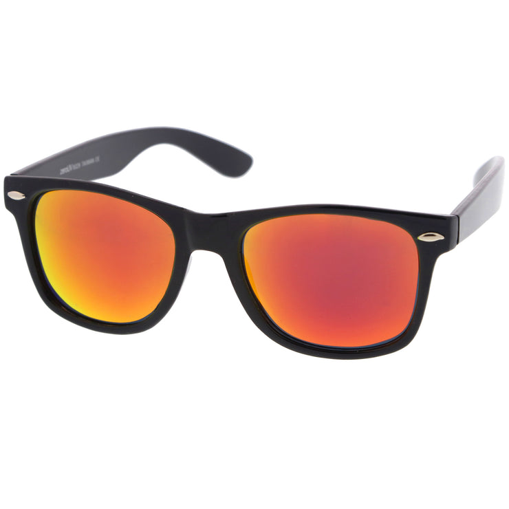 Black / Orange Mirror Polarized