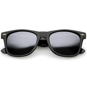 Black / Silver Mirror Polarized