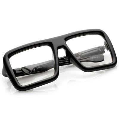 Shiny Black / Clear Lens
