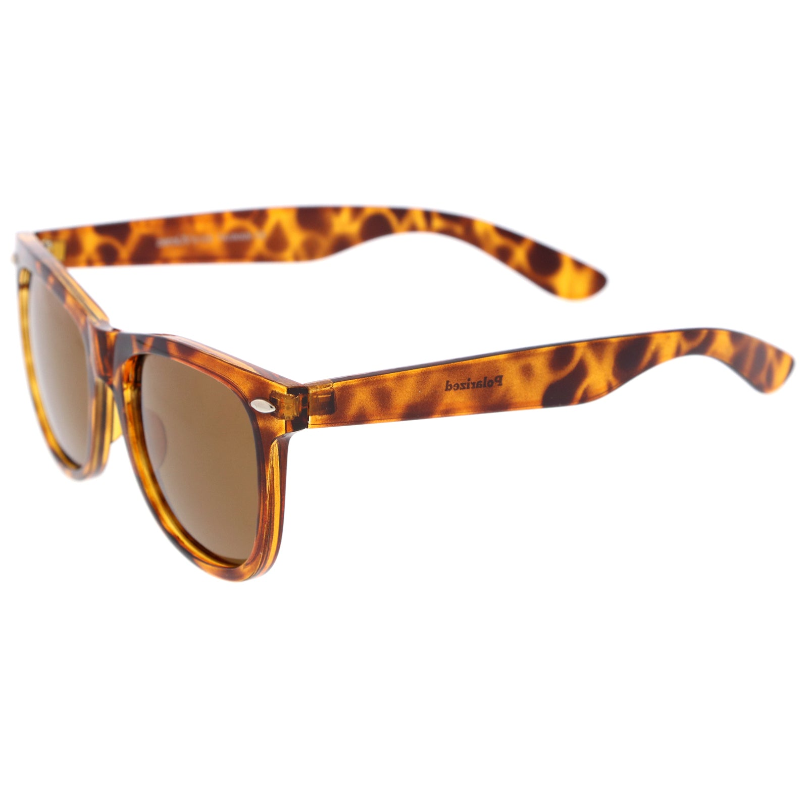 Orange-Tortoise / Brown Polarized