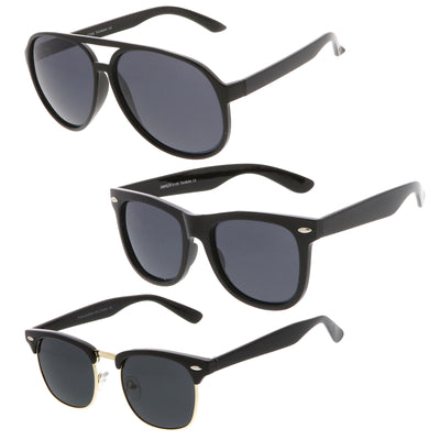 3-Pack | Polarized Black Smoke Set
