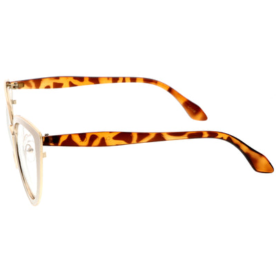 Creme-Gold-Tortoise / Clear
