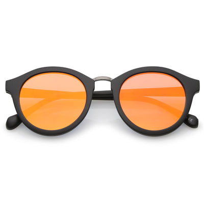 Matte Black-Gunmetal / Orange Mirror