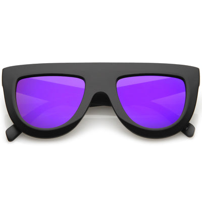 Matte Black / Purple Mirror