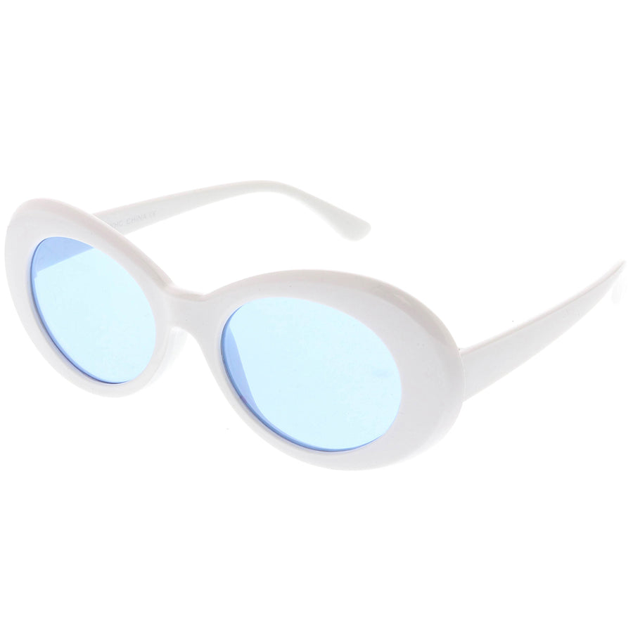 ded044ccb06 Mid Size Flip-Up Colored Lens Round Django Sunglasses 49mm - sunglass.la