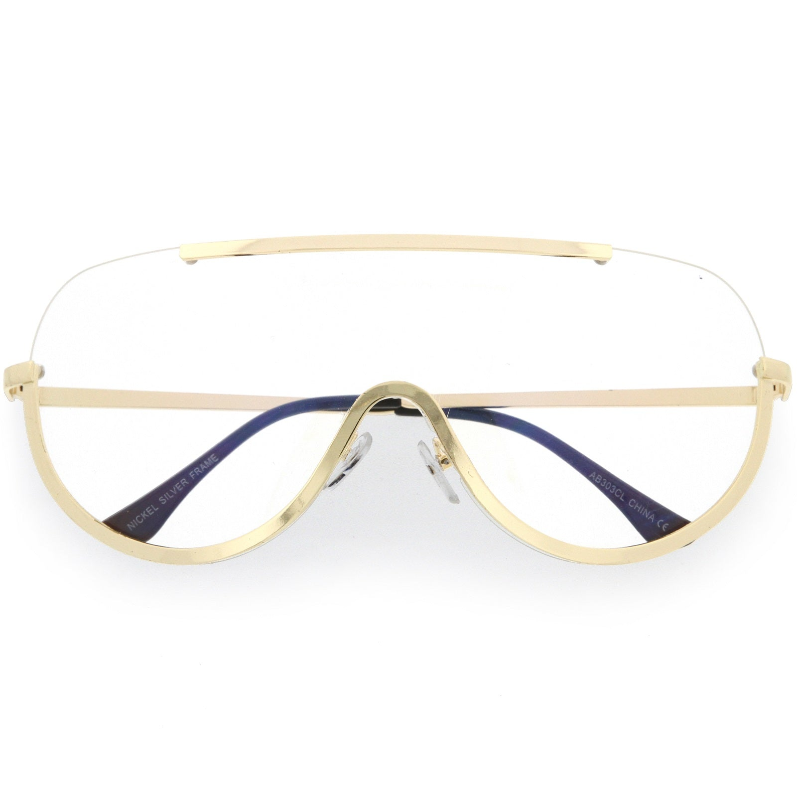 e64757f81f True Vintage Horn Rimmed Semi-Rimless Sunglasses Square Mirrored Lens 48mm