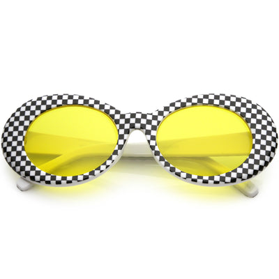 Checkered / Yellow