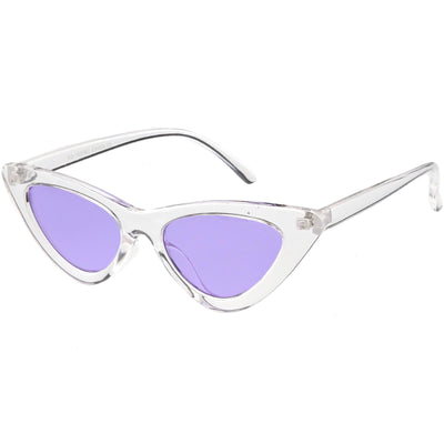 Clear / Purple