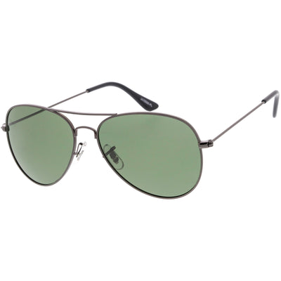 Gunmetal / Green Polarized