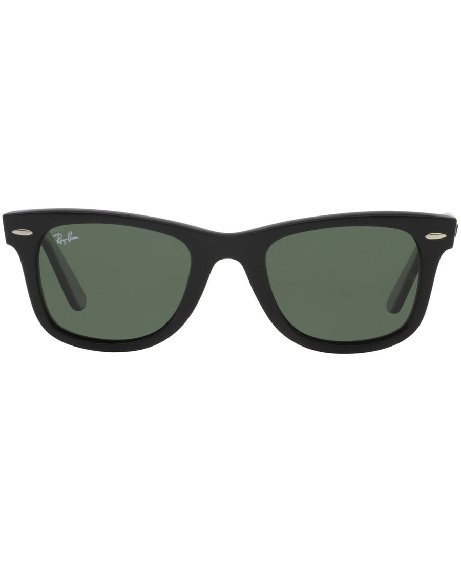 Ray-Ban - ORIGINAL WAYFARER Sunglasses, RB2140 54 (Black/Green)