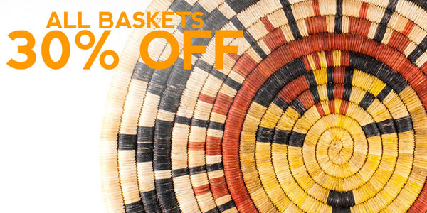 Baskets 30% Off