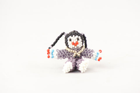 Zuni Native American Beaded Girl - Turquoise Village