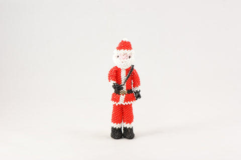 Beaded Santa - Turquoise Village