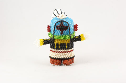 Beaded Star Kachina - Turquoise Village