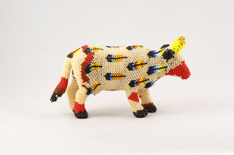 Beaded Steer - Turquoise Village