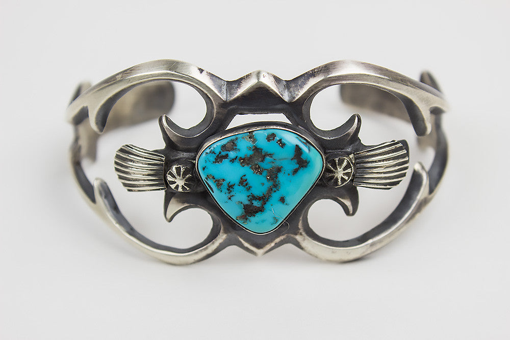 turquoise rectangle bracelet eagle native navajo silver bracelets american rock jpg trading post