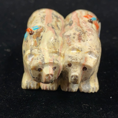 """Sweetheart"" bears fetish carving"