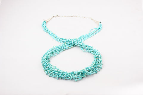 Ten Strand Turquoise Heishi & Nugget Necklace - Turquoise Village