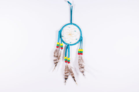 "Navajo 3"" Dream Catcher by Branston Martin - Turquoise Village - 1"