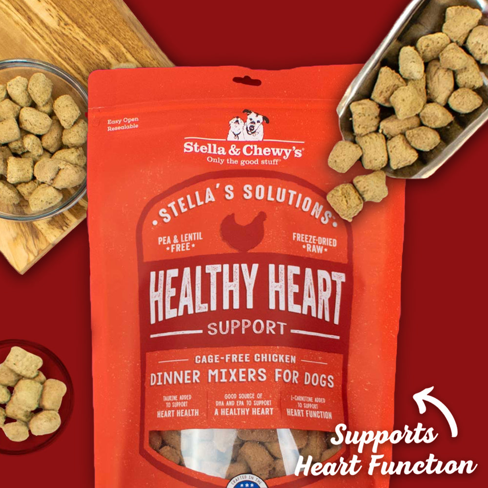stella & chewy's stella's solutions healthy heart dog food