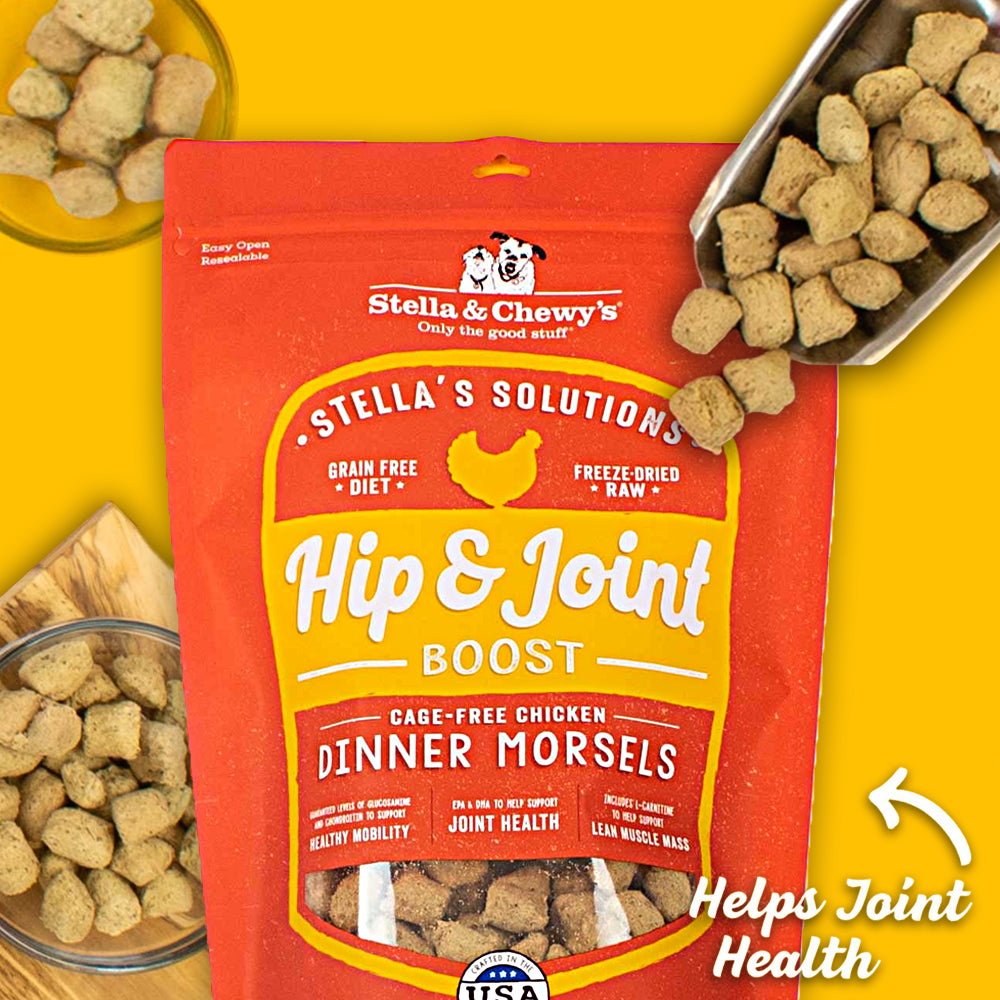 stella & chewy's stella's solution hip & joint dog food