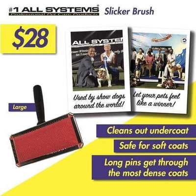 #1 All Systems #1 All Systems Large Pet Slicker Brush Grooming & Hygiene