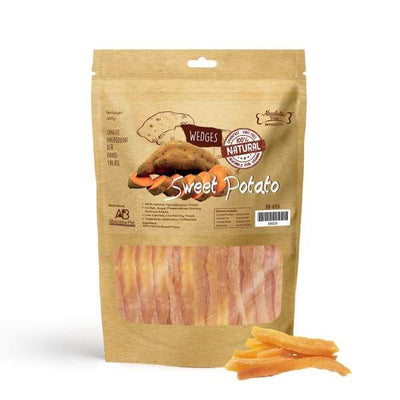 Absolute Bites [3 For $29!] Absolute Bites Air Dried Sweet Potato Wedges Dog Treats 300g Dog Food & Treats