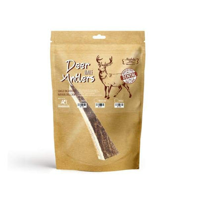 Absolute Bites Absolute Bites Half Deer Antlers Dental Chew (3 Sizes) Dog Food & Treats