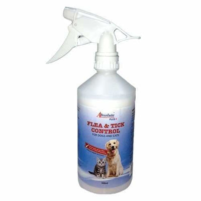 Absolute Plus Absolute Plus Flea & Tick Control For Dogs & Cats 500ml Dog Healthcare