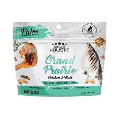 Absolute Holistic Absolute Holistic Grand Pairie Air Dried Cat Treats 50g Cat Food & Treats