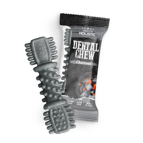 Absolute Holistic [$1 EACH] Absolute Holistic Charcoal Dental Dog Chew 4 Inch (25g) Dog Food & Treats