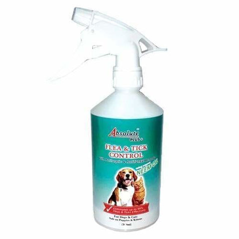 Absolute Plus Absolute Plus + Neem Flea & Tick Control For Dogs & Cats 500ml Dog Healthcare