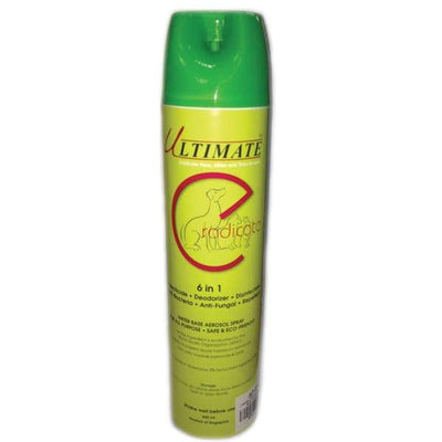 Absolute Plus Absolute Plus Ultimate Eradicate 6in1 Aerosol Spray on Pets 600ml Grooming & Hygiene