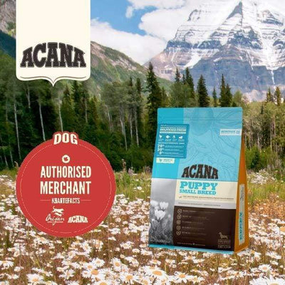 ACANA [UP TO 50% OFF] ACANA Heritage Puppy Small Breed Dry Dog Food Dog Food & Treats