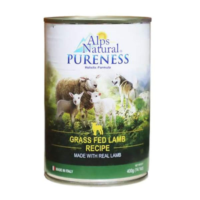 Alps Natural Alps Natural Classic Lamb Canned Dog Food 400g Dog Food & Treats