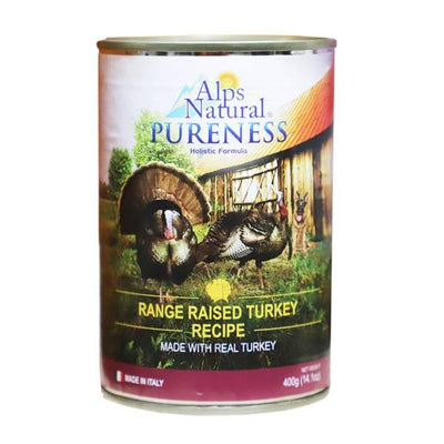 Alps Natural Alps Natural Classic Turkey Canned Dog Food 400g Dog Food & Treats
