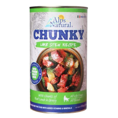 Alps Natural Alps Natural Chunk Lamb With Premium Meat Canned Dog Food 1.23kg Dog Food & Treats