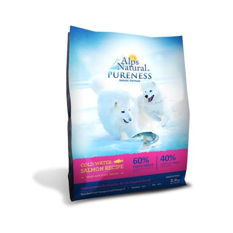 Alps Natural [Up to 33% OFF] Alps Natural Pureness Cold Water Salmon Recipe Dry Dog Food Dog Food & Treats