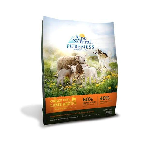 Alps Natural [Up to 33% OFF] Alps Natural Pureness Grass-fed Lamb Recipe Dry Dog Food Dog Food & Treats