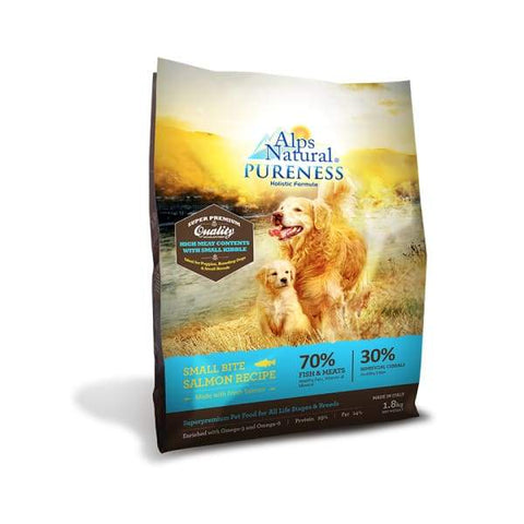 Alps Natural [Up to 33% OFF] Alps Natural Pureness Small Bite Salmon Recipe Dry Dog Food Dog Food & Treats