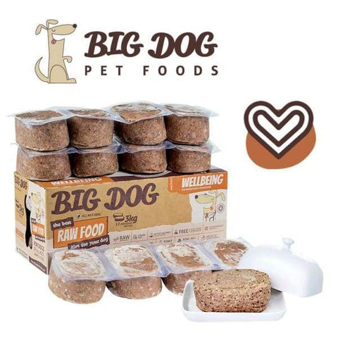 Big Dog [10% OFF] Big Dog BARF Well-Being Frozen Raw Dog Food Dog Food & Treats