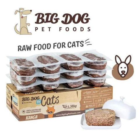 Big Dog Big Dog BARF Kangaroo Frozen Raw Cat Food Cat Food & Treats