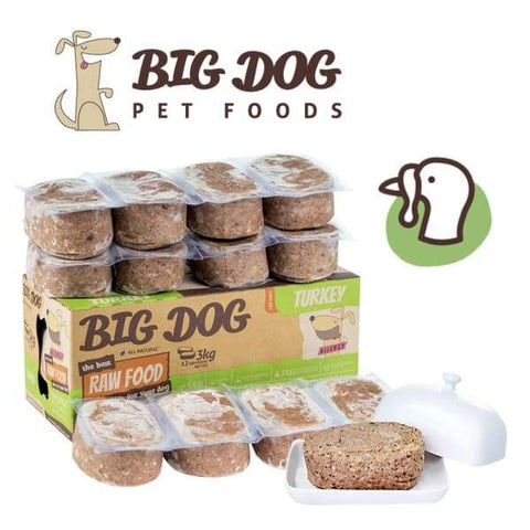 Big Dog [10% OFF] Big Dog BARF Turkey Frozen Raw Dog Food Dog Food & Treats