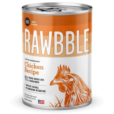 BIXBI BIXBI RAWBBLE Chicken Recipe Canned Dog Food 354g Dog Food & Treats