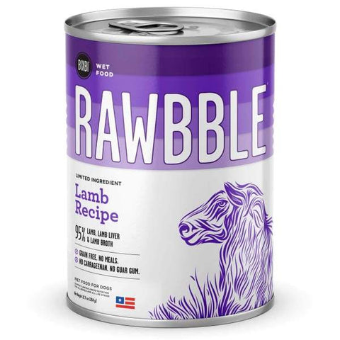 BIXBI BIXBI RAWBBLE Lamb Recipe Canned Dog Food 354g Dog Food & Treats