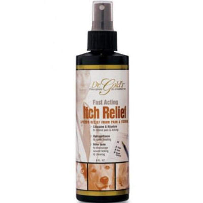 Dr Gold Dr Golds Fast Acting Itch Relief 8oz Dog Healthcare